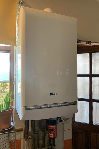 New Baxi boiler installation in Hornchurch