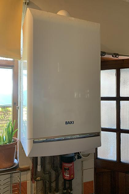 New boiler fitted in Hornchurch